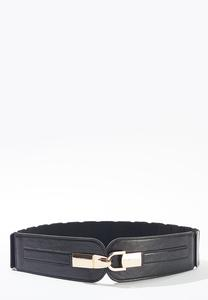 Plus Size Stretch Back Hook Belt