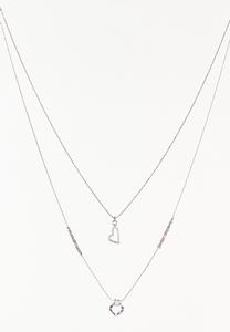 Delicate Charm Layered Necklace