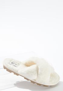 Fur Crossband Lug Slides