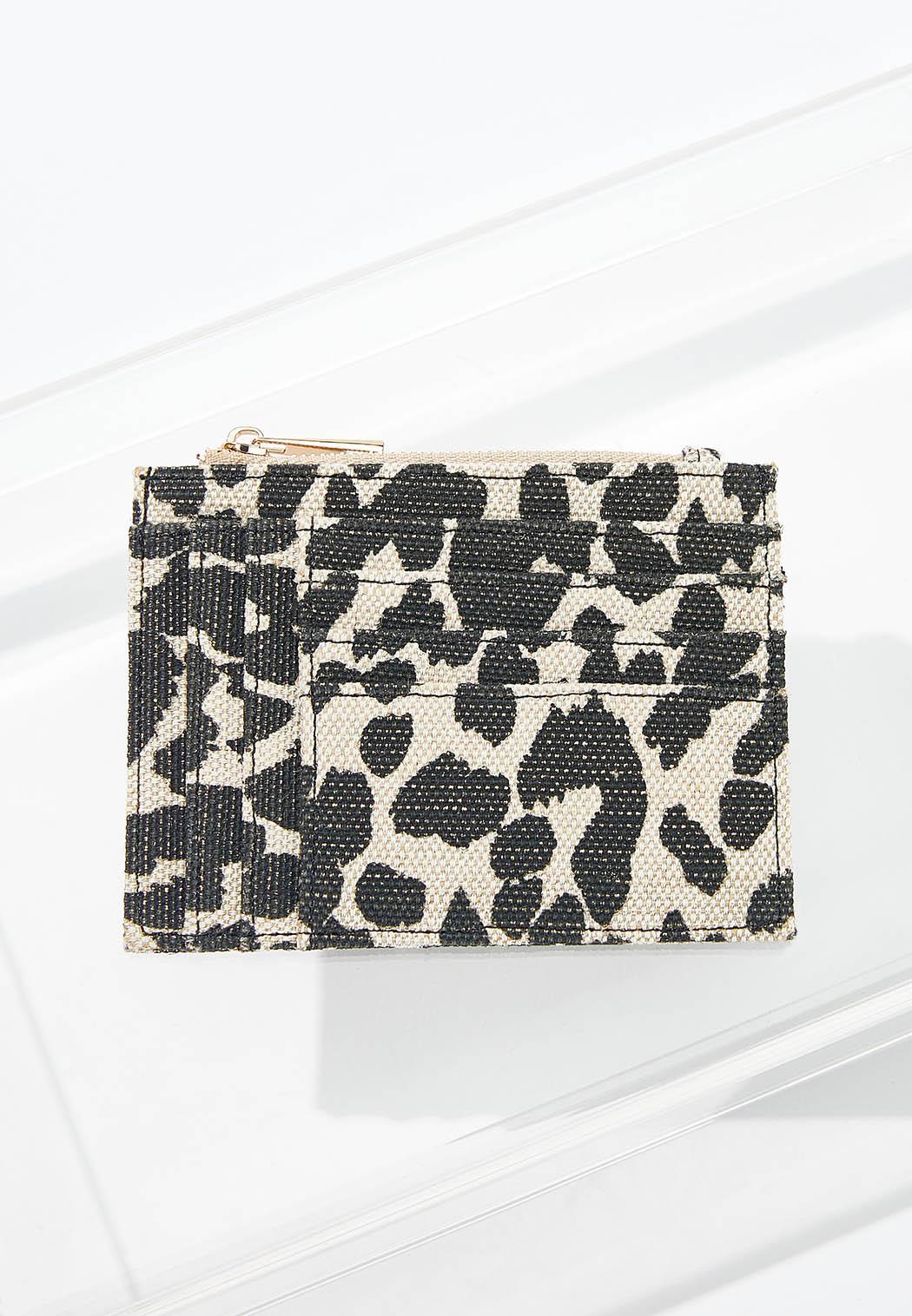 Leopard Mini Card Wallet