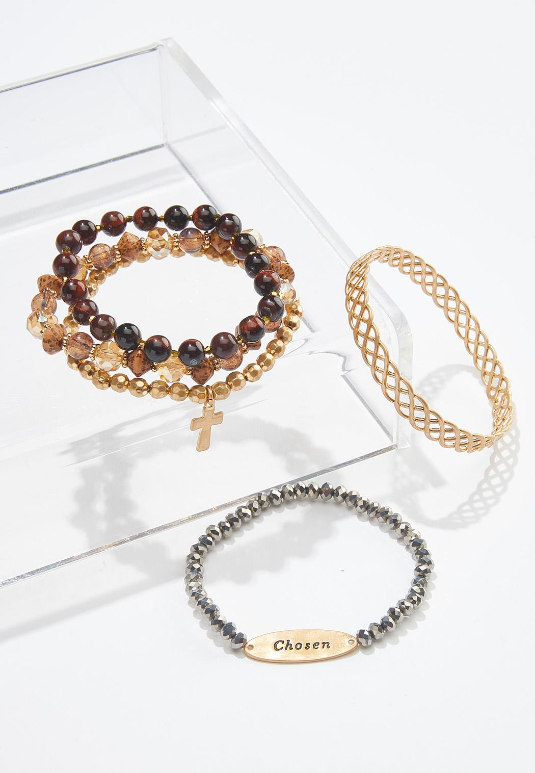 Chosen Inspirational Bracelet Set