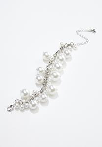 Shaky Pearl Wrap Bracelet
