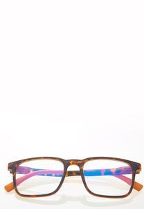 Tortoise Orange Blue Light Glasses