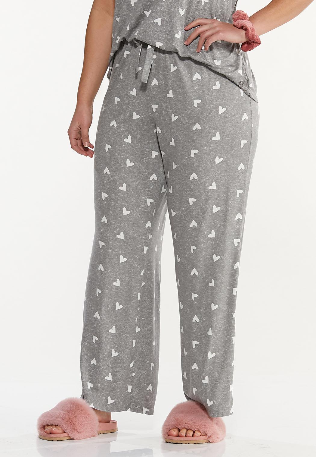 Plus Size Heart Lounge Pants