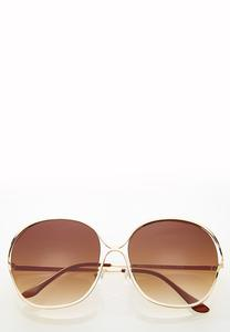 Josie Oversized Round Sunglasses