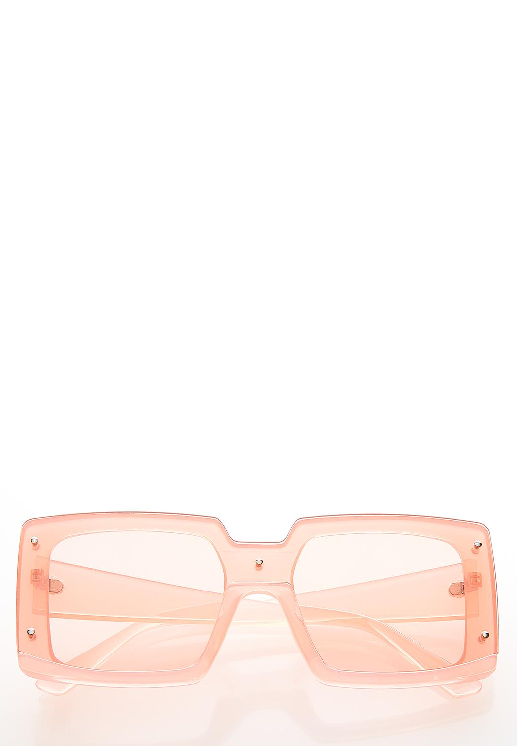 Francisco Lucite Sunglasses
