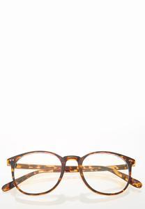 Tortoise Round Blue Light Glasses