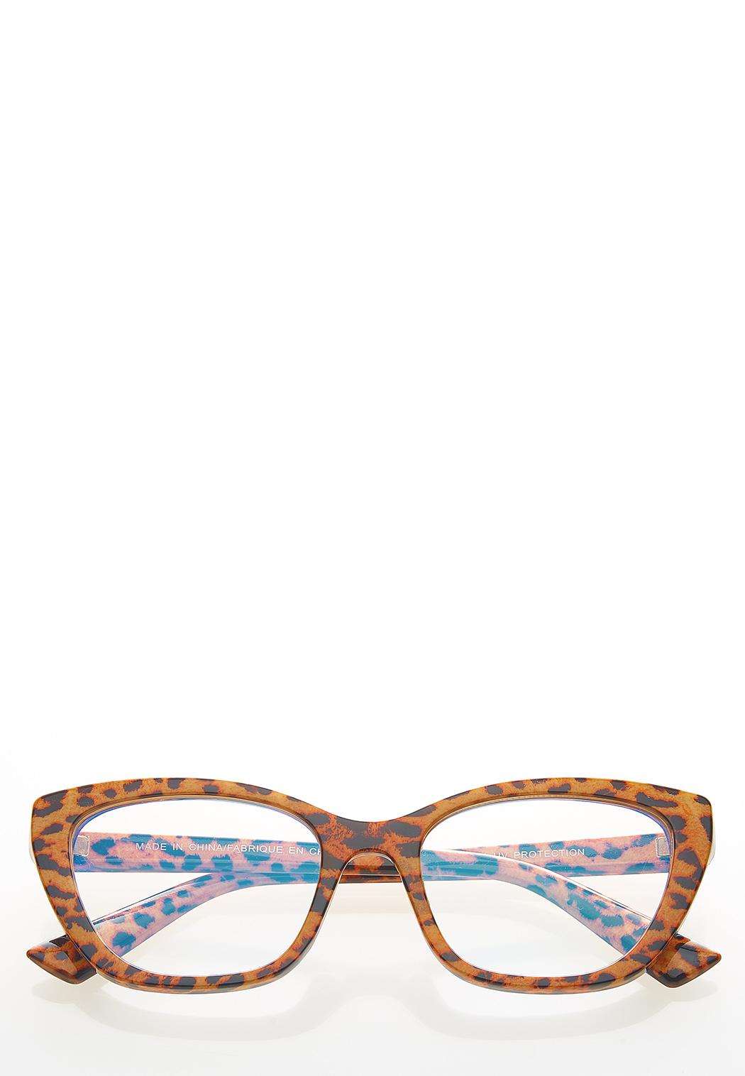 Leopard Blue Light Glasses