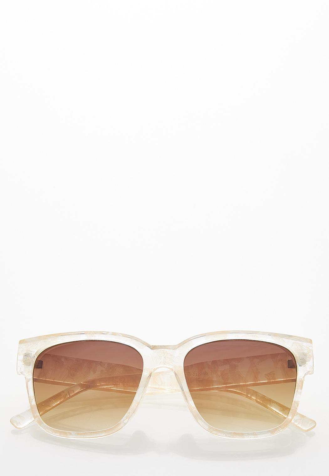 Clear Tortoise Sunglasses