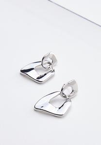 Interlocking Metal Earrings