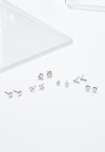 Silver Metal Stud Set
