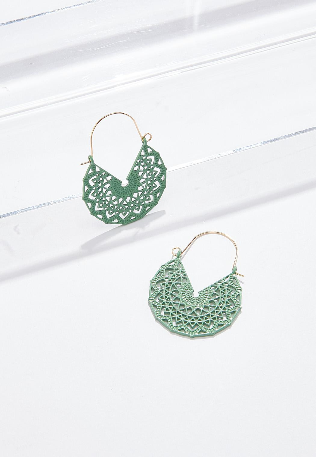 Filigree Wire Earrings