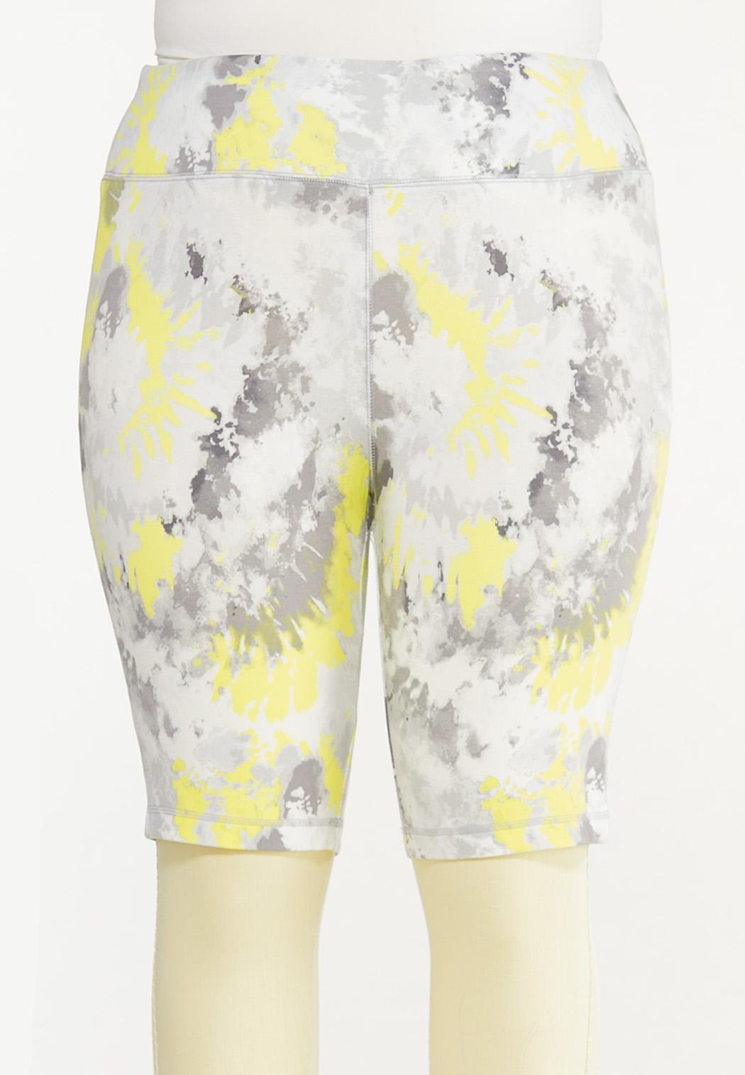 Plus Size Brighter Skies Biker Shorts