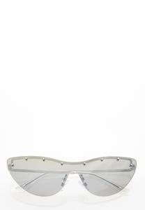 Cat Eye Shield Sunglasses