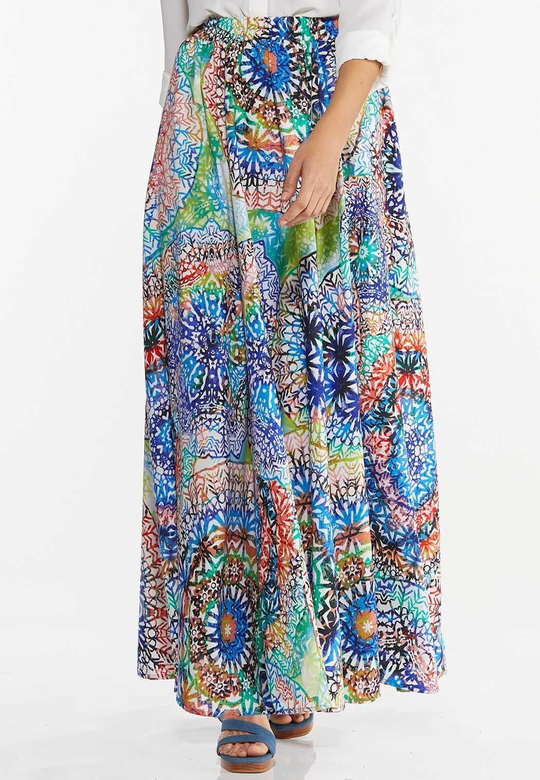 Kaleidoscope Maxi Skirt