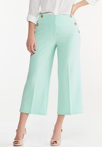 Cropped Sailor Pants