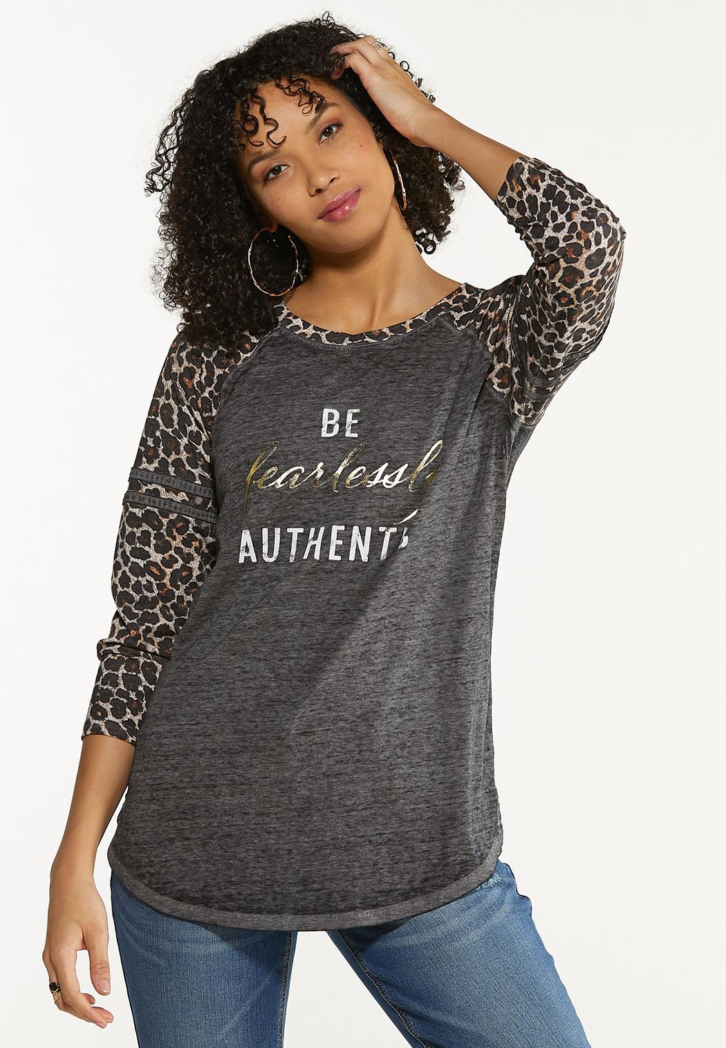 Fearlessly Authentic Top