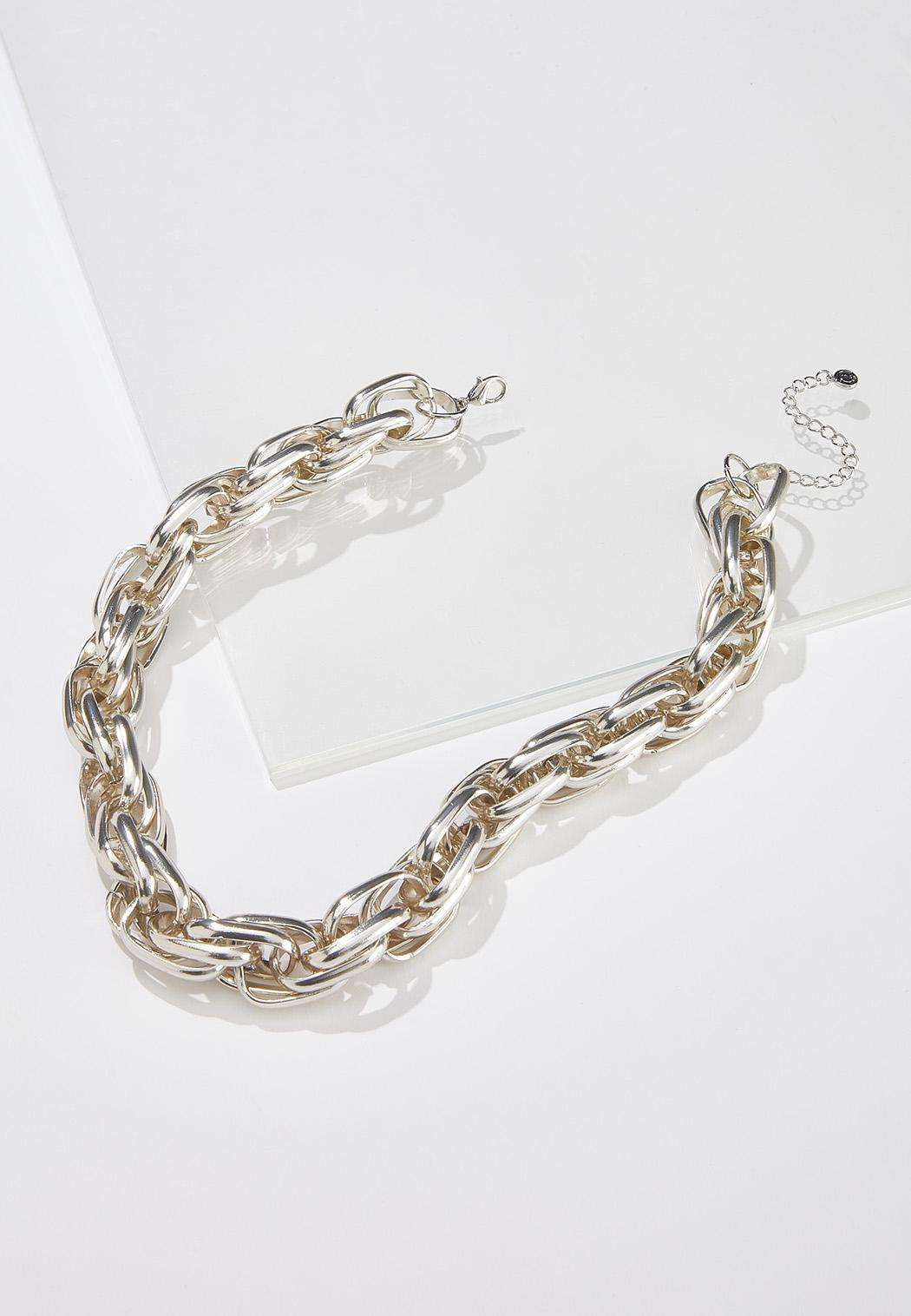 Chunky Chain Short Necklace