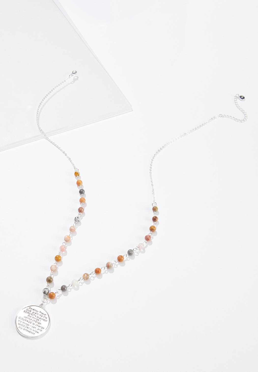 Beaded Prayer Necklace
