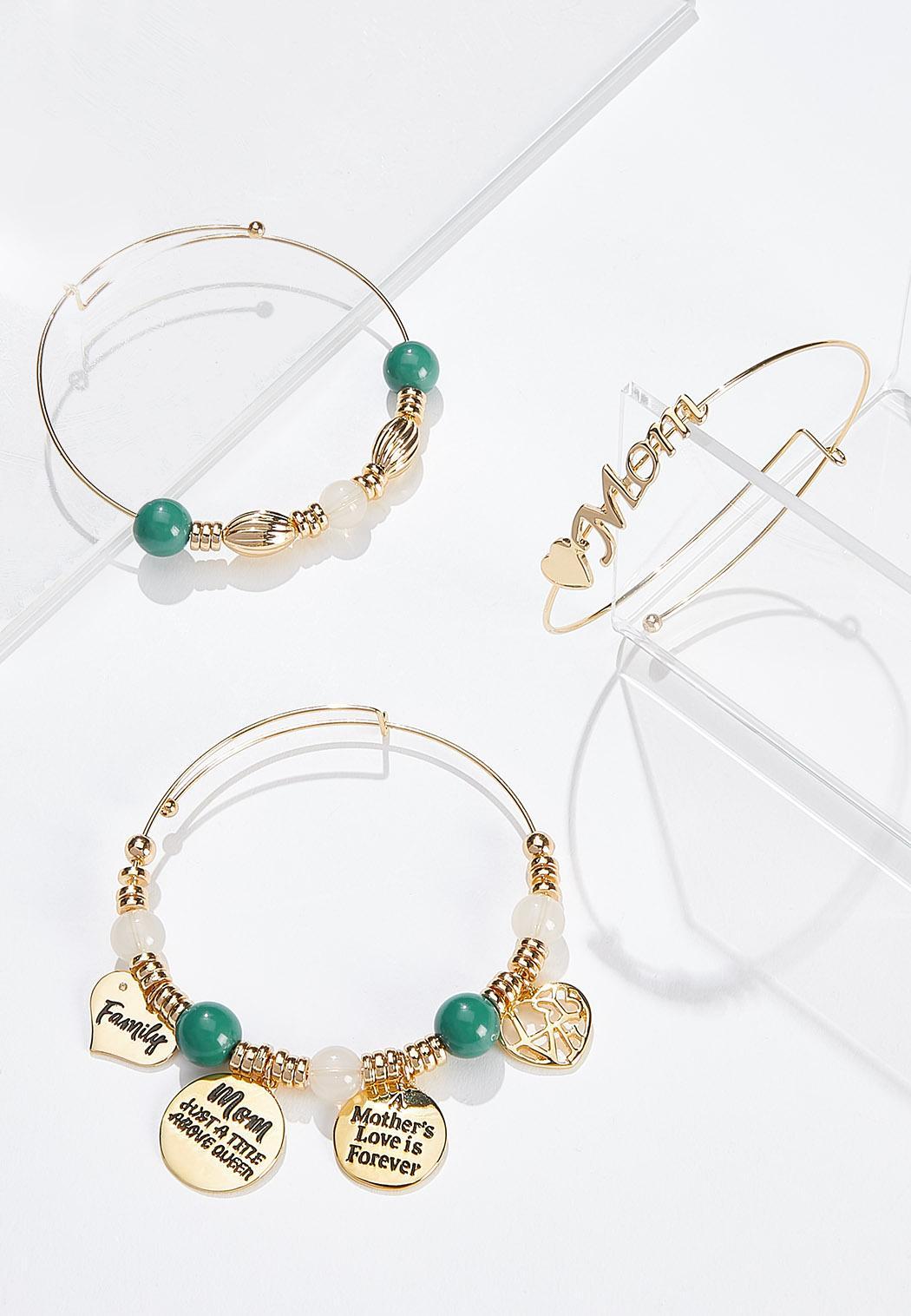 For Mom Charm Bracelet Set