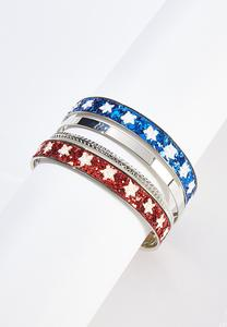 Sparkle Star Bracelet Set