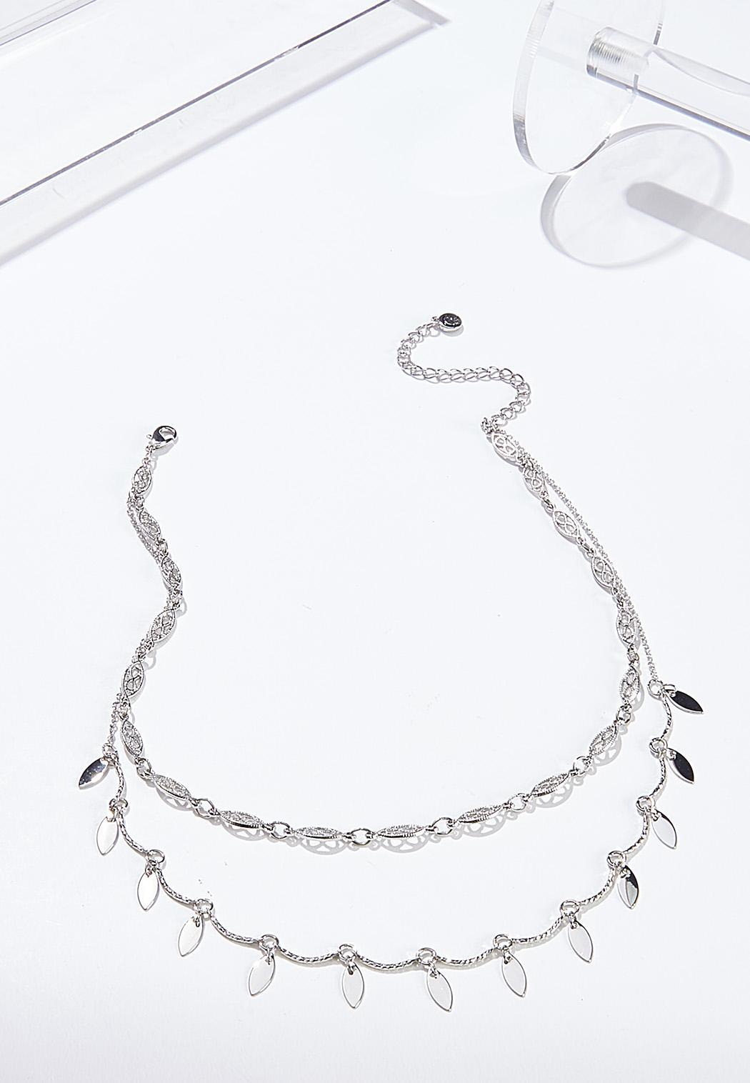Layered Shaky Bead Necklace
