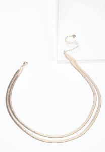 Double Layer Gold Necklace