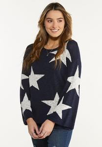 Plus Size Super Star Sweater