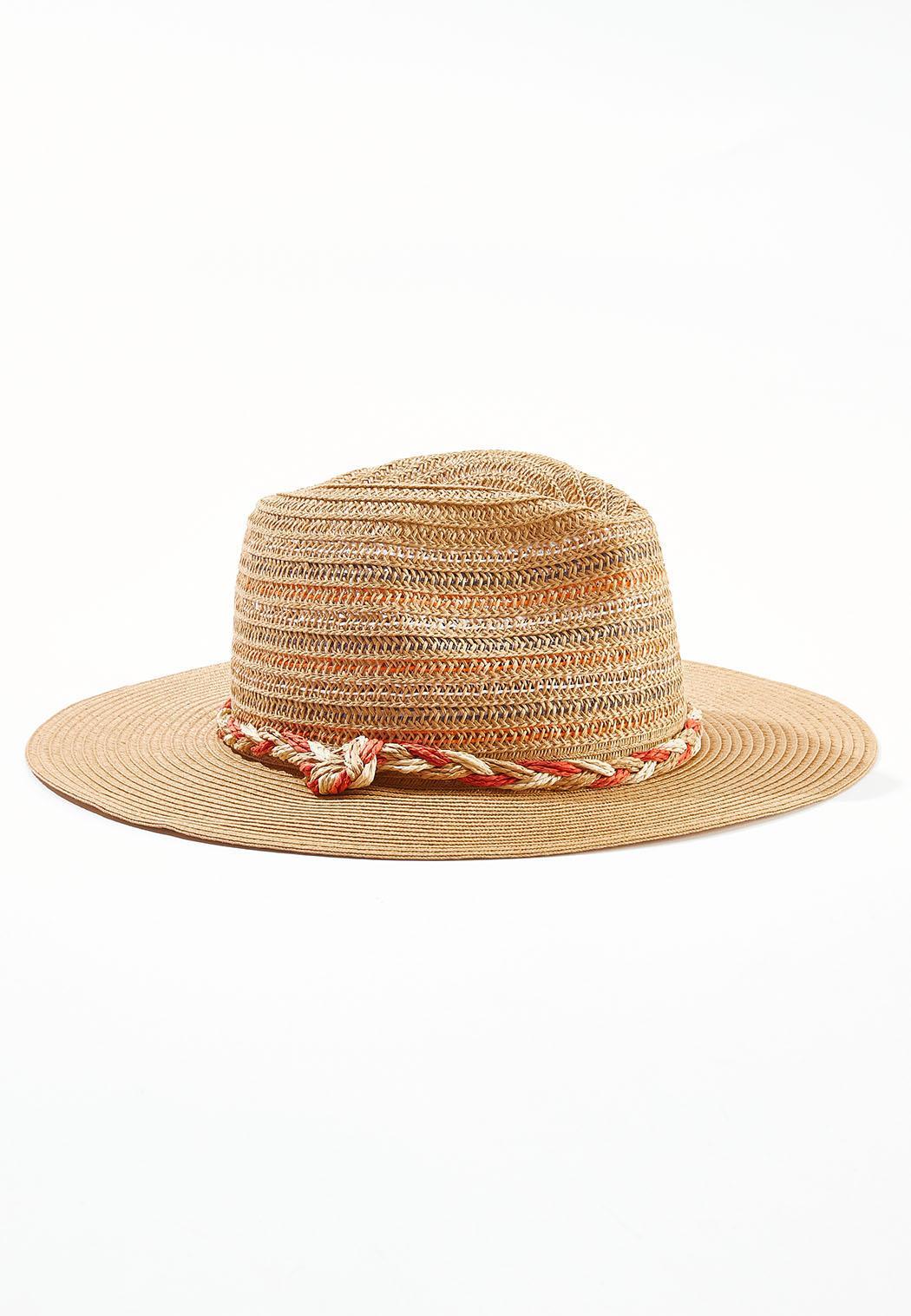 Multi Color Braid Band Hat