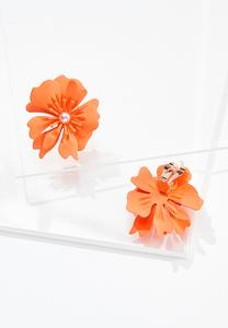 Flower Power Clip-On Earrings