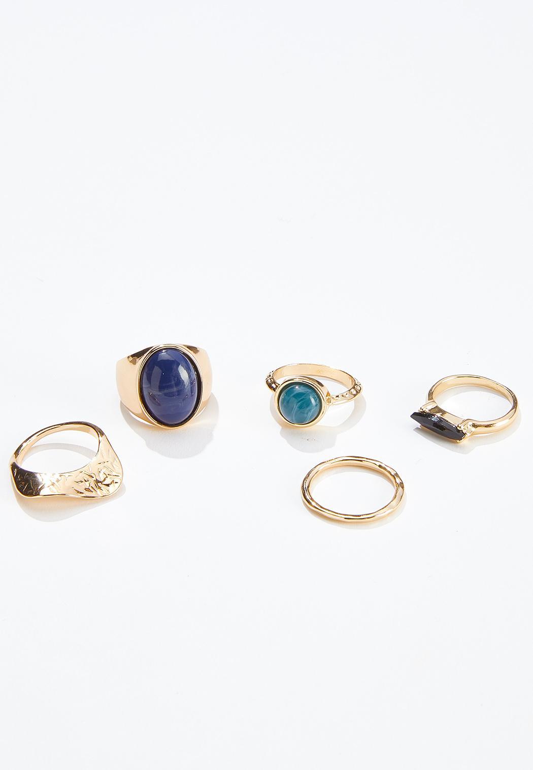 Stone Ring Set