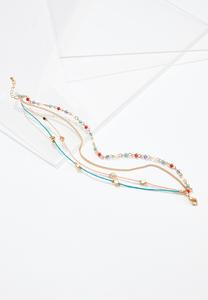 Color Cord Anklet