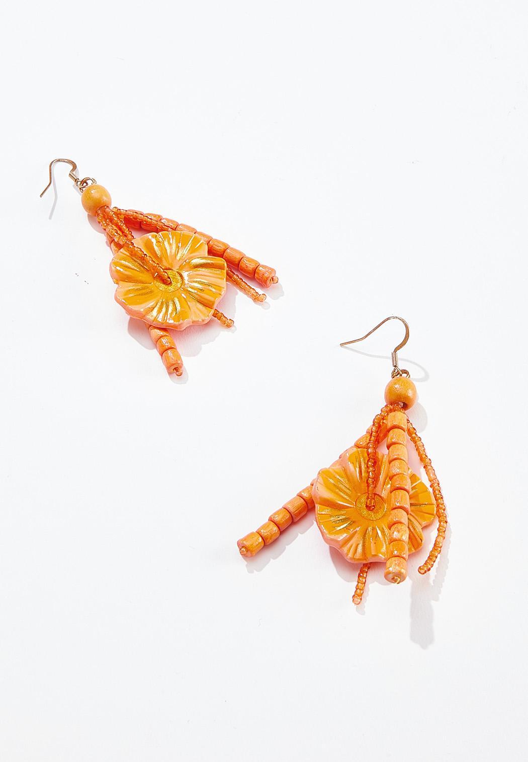 Hawaiian Wood Earrings
