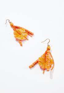 Hawaiian Wood Earrings