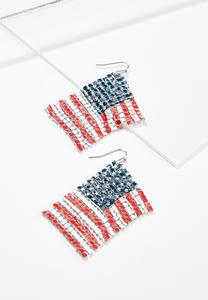 Wavy Flag Earrings