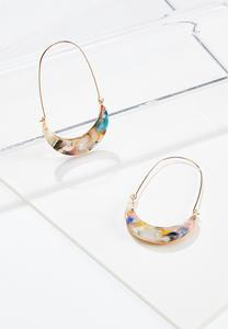 Thin Resin Earrings