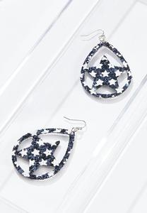Cutout Star Earrings
