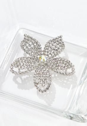Stone Flower Brooch