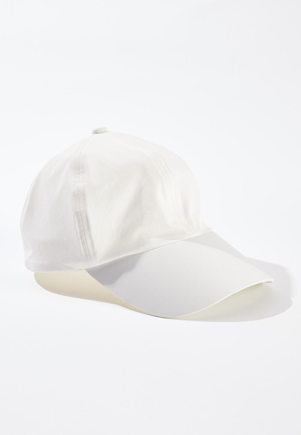 Bright White Baseball Hat