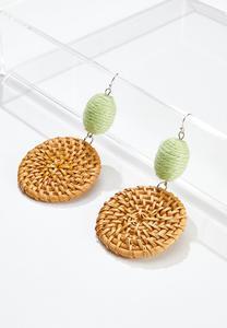 Raffia Dangle Earrings