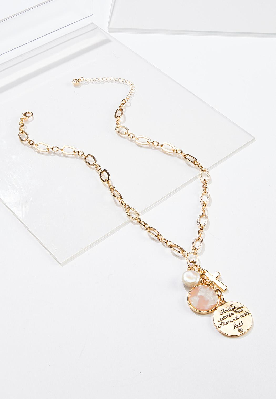 Inspirational Charm Necklace