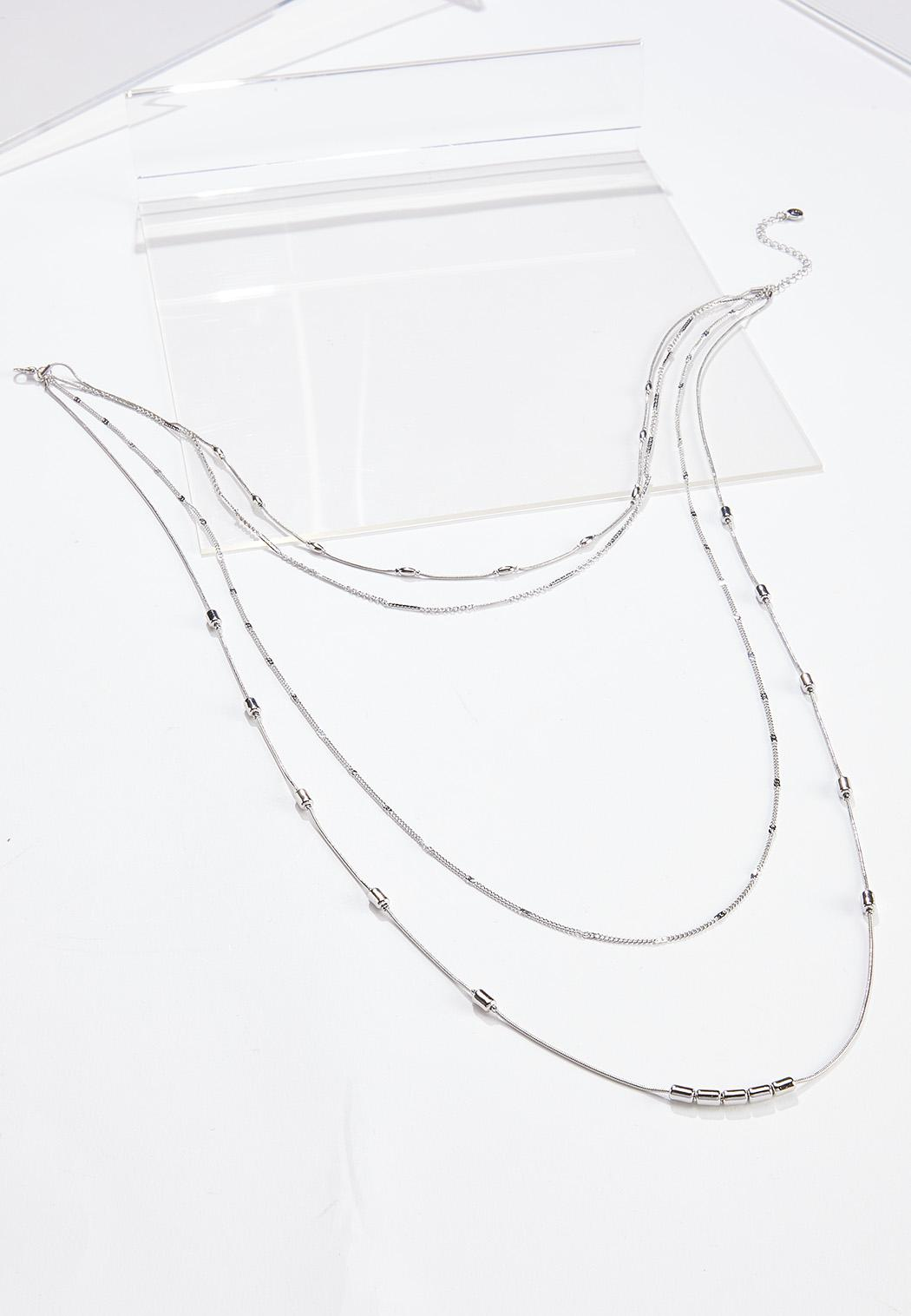 Delicate Mixed Chain Necklace
