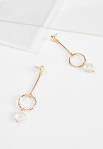 Freshwater Pearl Wire Earrings