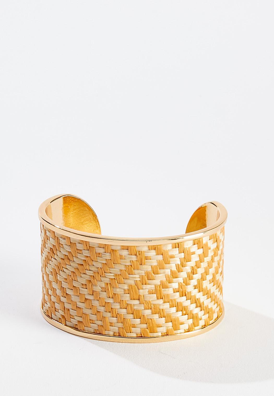 Chevron Woven Cuff Bracelet
