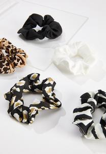 Multi Scrunchie Set