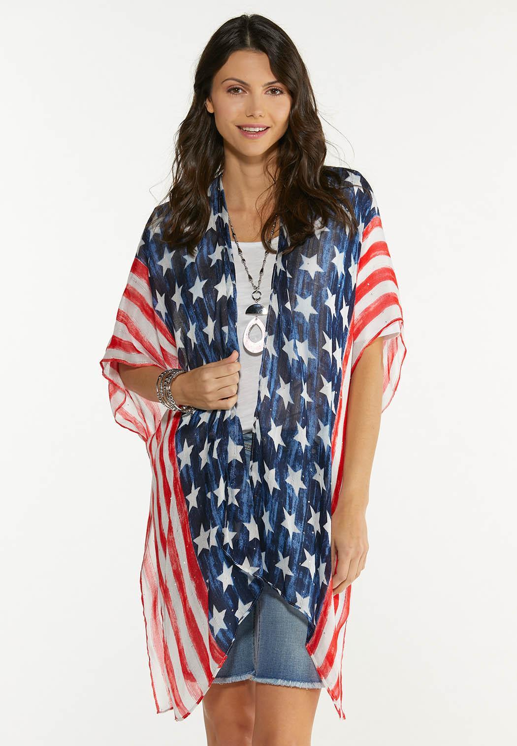 Americana Kimono