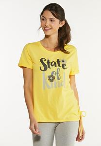 Plus Size State Of Kind Tee