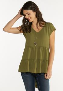 Tiered High-Low Tunic