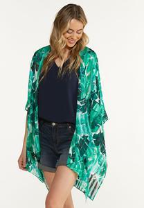 Tropical Palm Kimono