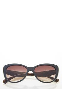 Leopard Arms Cat Eye Sunglasses